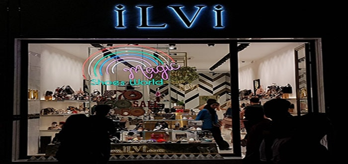 İlvi Mağazası Neon Tabela