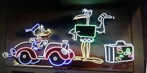 Daff yDuck Neon Art