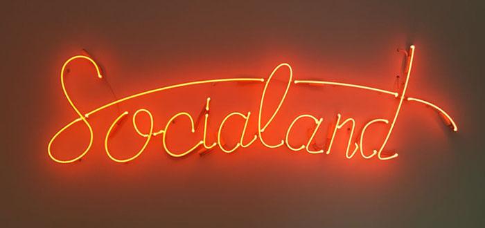 Socialand Neon çalışmamız